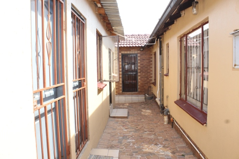 All units are secured with burglar gates